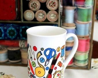 Embroidery Fuel Mug