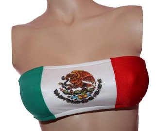 Mexico Flag Bandeau