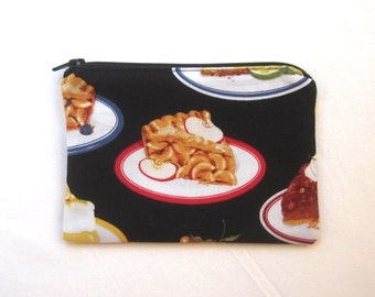 Apple Pie Coin Purse/Zipper Pouch