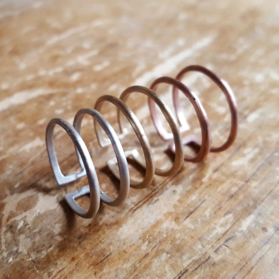 items similar to midi ring midi rings knuckle ring gold