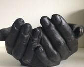 Vintage Cupped Hands Trinket Holder