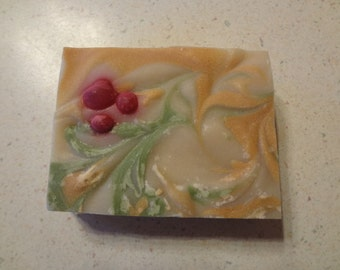 "Black Rafter SoapWorks ""Christmas Eve"" Artisan Christmas Soap"