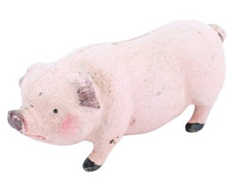 Pauly the Cast Iron Pig