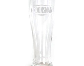 Pilsner Glass - 19oz - 9551 Groomsman