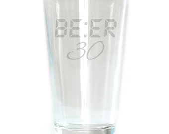 Pub Glass - 16oz - 6170 Be:er 30