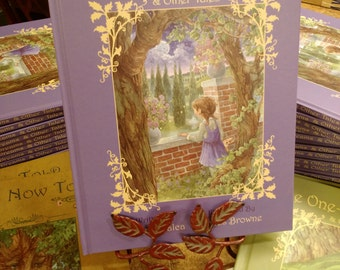 Fairy Dreams & Other Tales 1st Edition Signed Children's Book with a Signed 8.5x11