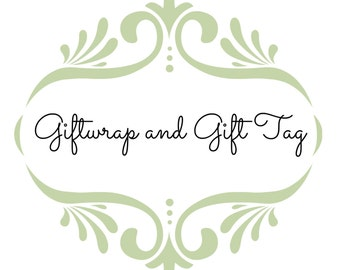 Gift Wrap and Gift Tag
