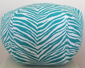 Zebra And Teal Etsy