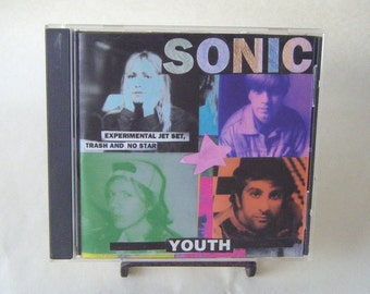 Sonic Youth Experimental Jet Set Trash and No Star CD Vintage Used Music Alternative Noise Punk Rock Stocking Stuffer