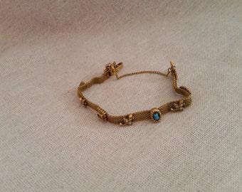 Vintage Goldette, New York Victorian charm bracelet