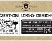MADE TO ORDER Custom Vector Logo Design - Custom Business Logo - Custom Business Branding - Bespoke Branding - Professional Logo Design