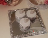 Bring On The Bling  Flameless Tealight Candles ~Weddings~Events~Decoration
