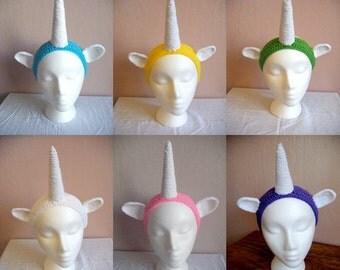 Unicorn Headband - multiple colors available