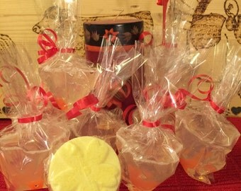 Goldfish Soap Pack of 10 - Party Favors Goldfish - Fish in Soap - OilPatchFarm - Free Bath Bombs