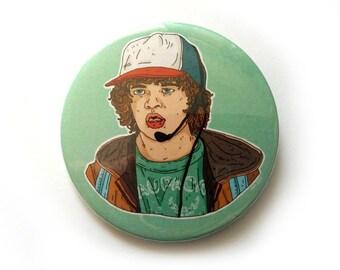 dustin toothless button pins illustration