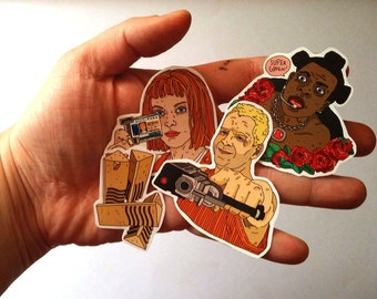 Stickers // the fifth element