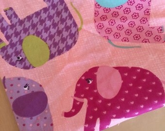 elephant fabric remnants