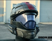 "Ultimate Custom""Dutch style"" Halo ODST Helmet - Padded and Wearable - Fan Made"