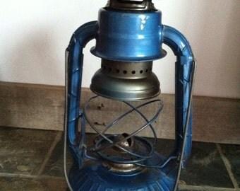 Dietz Little Wizard Vintage Blue Lantern