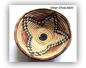 Vintage West African Gathering Basket