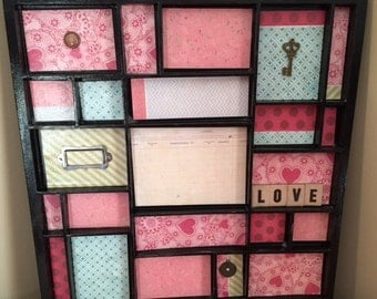 Valentines Picture Tray or Jewelry Tray