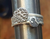 Custom Order Beer Speak Stacking Rings