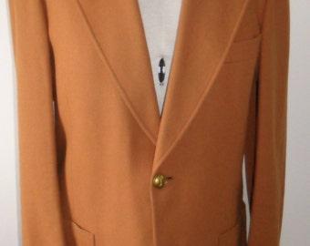 Vintage 1970s Christian Dior pure wool men's jacket