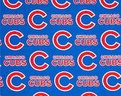 Custom Chicago Cubs Nursing Cover