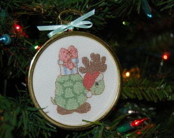 Precious Moments Christmas Turtle