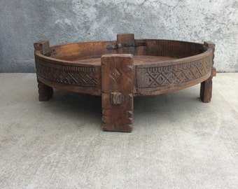 Chakkis / Grain Table / India Style / Moroccan Style / Shipping Included in the U.S.