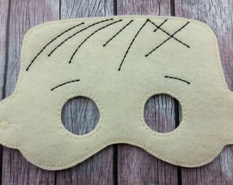 Nutty Character Children's mask, blanket Linus
