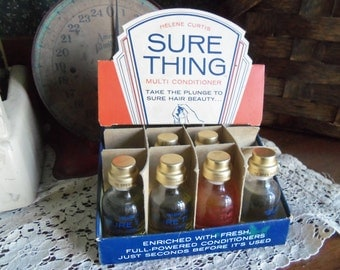 Antique Store Counter Display Helene Curtis Beauty Hair Conditioner