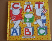 1994 Alphabet Book. Hardcover. The Cat's ABC from Josie Firmin. Lots of Cats Illustrations.