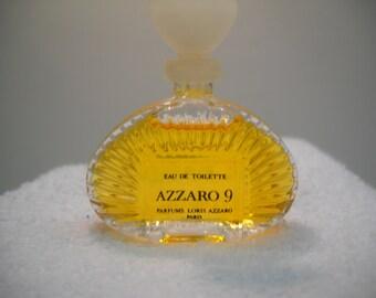 Vintage Azzaro 9 Eau Toilette Mini Perfume