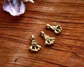 tribal brass pendants, ethnic charms, brass charms, brass beads, african trade beads, coin pendants, beads india, macrame, makrame, boho,