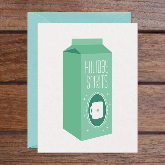 Holiday Spirits Set (8 Cards)