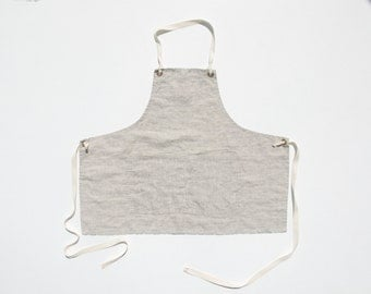 Apron No. 1 in Flax