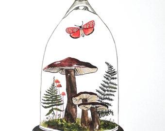 Vivarium No.2 Archival Watercolor Gouache Print