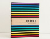 6x8 2-Ring Binder Filo Folder with 2 FREE Refill Packs - Rainbow Techno