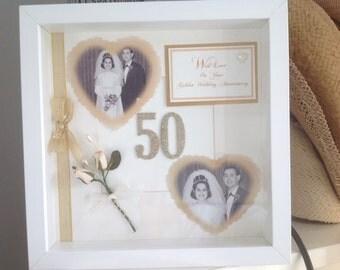 Golden Wedding Anniversary Gift/Wedding Day Gift