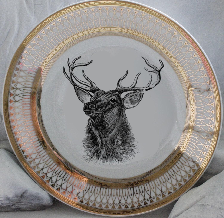 Reindeer Christmas Dinnerware - Christmas Decore