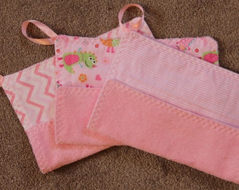 Baby Wash Cloths~set of 3 #22G-1061