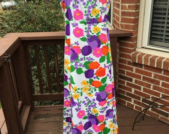 Wonderful Maxi Spring/Summer Dress Multi Colored
