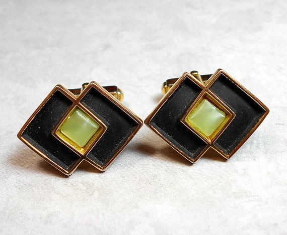 vintage cufflinks vintage cuff links anson by sharkyswaters