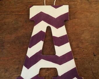 Wooden Handpainted Letter