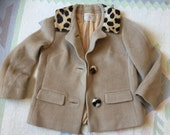 ON HOLD. Vintage 60s Peck & Peck Fur Wool Coat, Mad Men