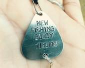 Fishing Lure, Daddys New Fishing Buddy Lure, Boyfriend Gift, Personalized Fishing Lure, natashaaloha, Boyfriend Gift, Valentine Men