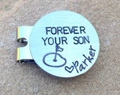 Golf Marker, Kick Putt Dad, Boyfriend Gifts, Golf Gifts, Husband Gift, Personalized Golf Marker, Hat Clip, Gifts for Dad, natashaaloha