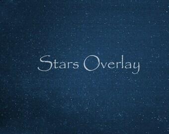 Star Overlay, Night Sky Overlay