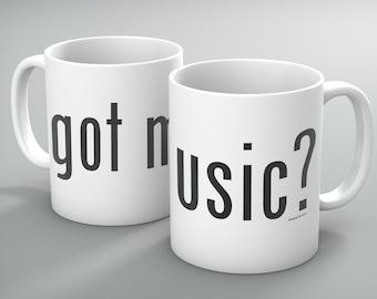 Got Music Ceramic Mug